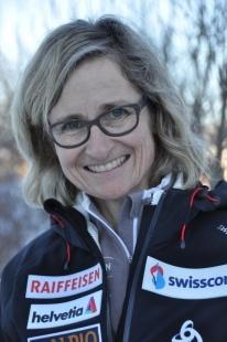 2014-2015 Trainerin Biathlon Franziska Keller