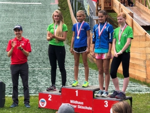 Alena Skisprung Sonntag  2 Rang