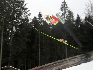 Fabio Moser Hinterzarten Febr. 2014 U12 Leader
